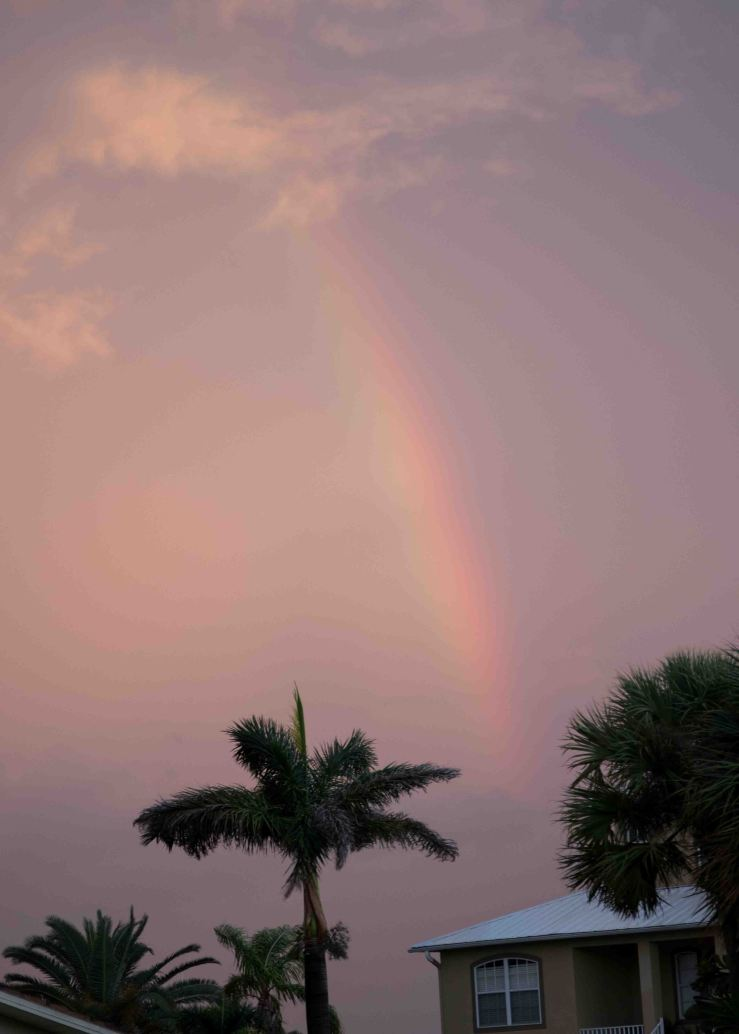 Hurricane Michael Rainbow
