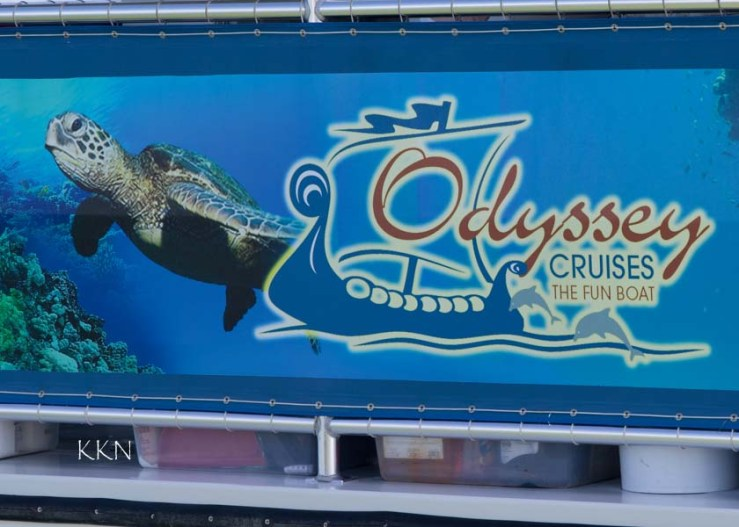 Odessey Cruise Sign