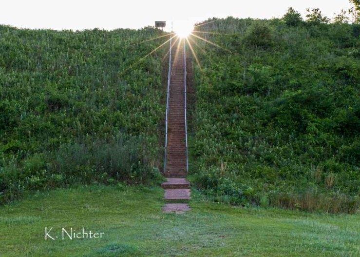 Temple Mound Sunrise