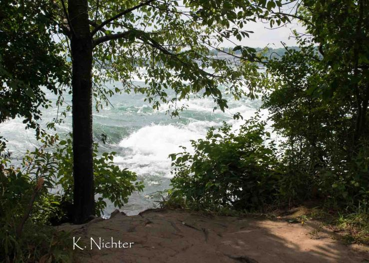 Niagara River View from Trail